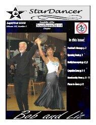 Sept/Oct 2008 Newsletter - SouthernStar Home