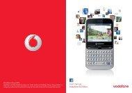 User manual Vodafone 555 Blue