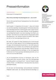 Gesetzesänderung - Bundesverband des Schornsteinfegerhandwerks