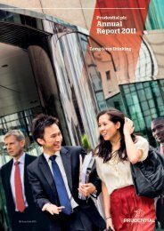 Download Prudential Plc Annual Report 2011 PDF