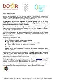Poziv i program radionice - MojaEnergija