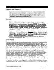 executive summary purpose and objectives background - Arthritis ...