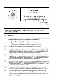 Determination of proposal to permanently expand primary schools in ...