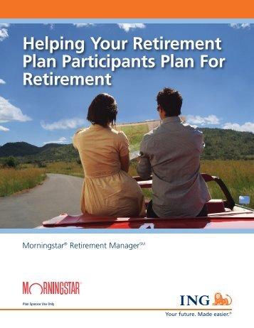 Managed Accounts Employer Brochure - ECA Marketing