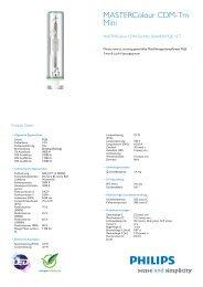 MASTERColour CDM-Tm Mini 20W/830 PGJ5 1CT
