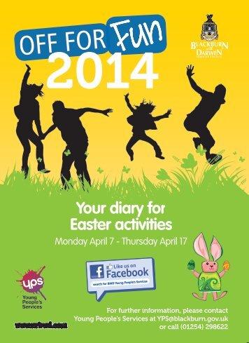 Off for Fun brochure - Blackburn with Darwen Borough Council