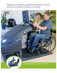 Neįgaliųjų vairavimo įgūdžiams testuoti ir lavinti