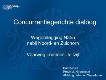 Klik hier voor de presentatie van Bart Koster. - Bouwend Nederland