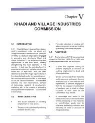 Khadi and Village Industries Commission - Ministry of Micro, Small ...