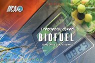 Frequently asked biofuel questions and answers