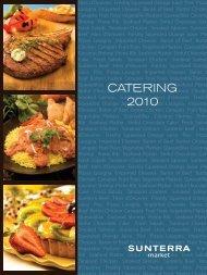 CATERING 2010 - Sunterra Market
