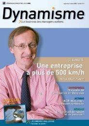 Dynamisme 214 - Union Wallonne des Entreprises