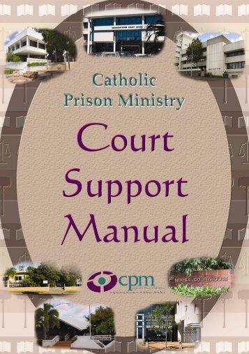 Court Support Manual - Catholic Prison Ministry