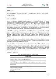 Příloha č. 3 - Centrum pro výzkum toxických látek v prostředí
