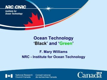 Oceans Of Opportunity - NEIA