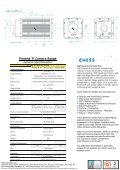 Piranha IR Camera Datasheet PDF - Chess Dynamics - Page 2