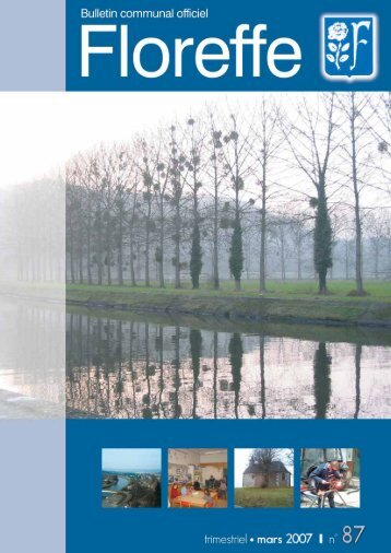 Bulletin communal de Mars 2007, n°87 (pdf 935Ko) - Floreffe