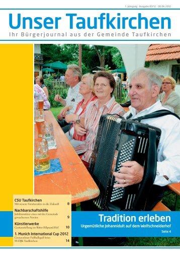 Unser Taufkirchen - reba-werbeagentur.de