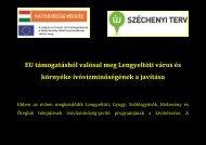 Akadálymentes tájékoztatás - Lengyeltóti Város Önkormányzata