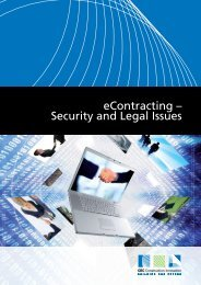 eContracting – Security and Legal Issues - Construction Innovation