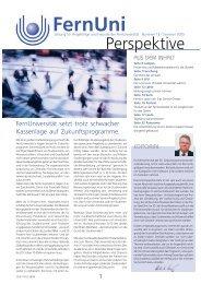 Nr. 12 / Sommer 2005 (pdf, 1.4 MB) - FernUniversität in Hagen