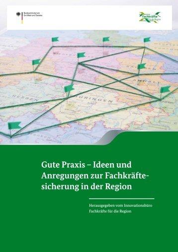 Gute Praxis – Ideen und Anregungen zur Fachkräfte - bei der ...