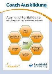 Coach-Ausbildung - Landsiedel NLP Training
