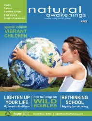 Vibrant Children - Grand Strand Natural Awakenings