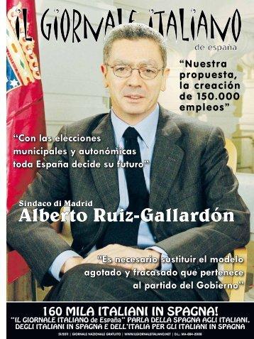 Alberto Ruiz-Gallardón - Il Giornale Italiano