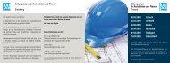 8. Symposium für Architekten und Planer - Icopal GmbH