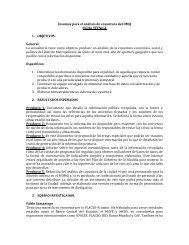 Insumos para el análisis de coyuntura del DMQ FICHA TÉCNICA 1 ...