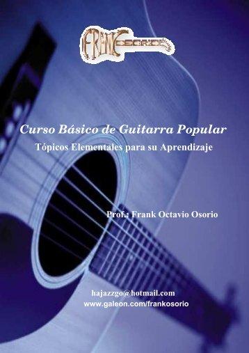 Descargar Curso básico de guitarra popular - Mundo Manuales