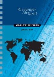 worldwide fares