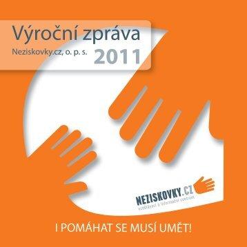 Výroční zpráva - Neziskovky