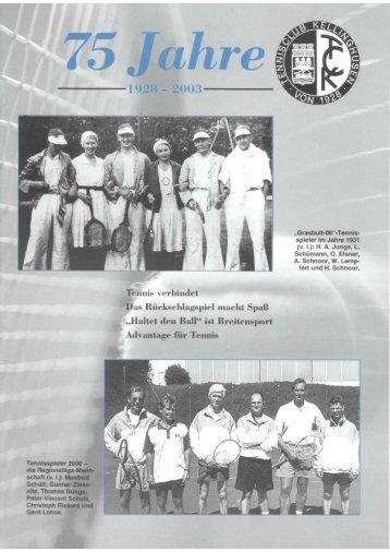 75 Jahre TC Kellinghusen