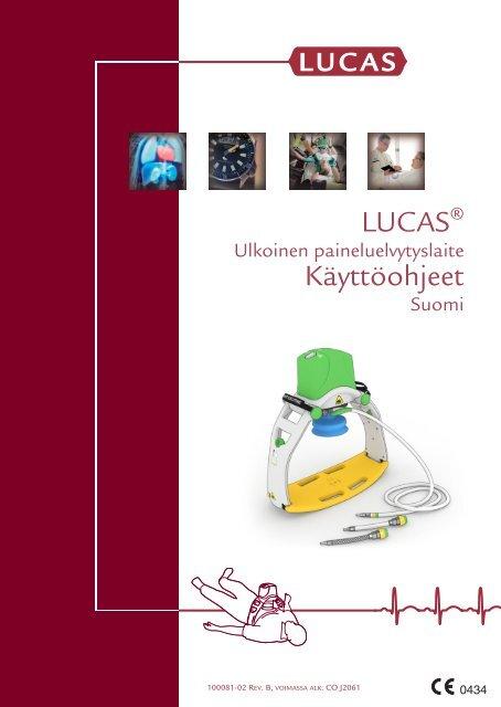 LUCAS 1 Käyttöohjeet (PDF) - Physio-Control