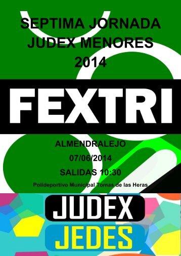 Informacion_Septima_JornadaJudexMenores2014_Almendralejo