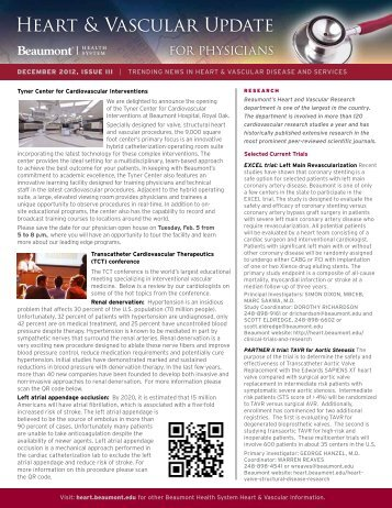 Atrial Fibrillation - Beaumont physicians