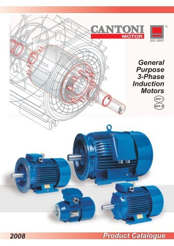 Product Catalogue General Purpose 3-Phase Induction Motors 2008