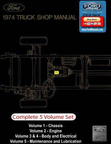 DEMO - 1974 Ford Truck Shop Manual - FordManuals.com