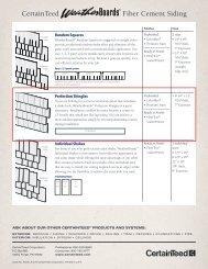 Fiber Cement Siding CertainTeed - Kier Construction Corporation