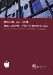 MODERNE KANTOREN: MEER COMFORT MET MINDER ENERGIE.