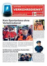 VERKEHRSDIENST - Kantonspolizei Bern