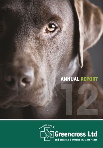 Annual Report 2012 - Greencross Vets
