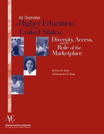 Overview-of-Higher-Education-in-the-United-States-Diversity-Access-and-the-Role-of-the-Marketplace-2004