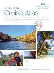 2013–2014 Cruise Atlas - Princess Cruises