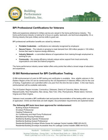 Checklist for Requesting Licensing & Certification Test ... - GI Bill