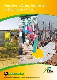 Northern Cape: Informal settlements status - Housing Development ...