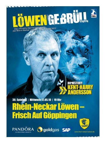 (Saison 2009/2010): Frisch Auf Göppingen - Rhein-Neckar Löwen