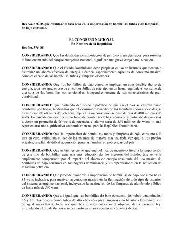 376-05 - Direccion General de Impuestos Internos